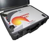 microhmímetro digital para laboratório