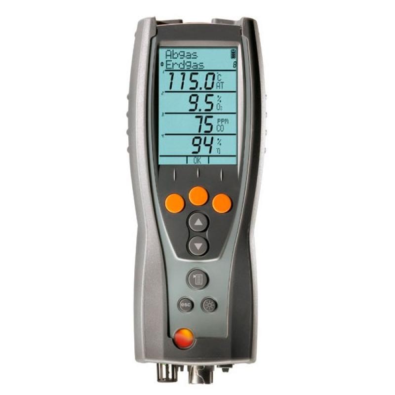Analisador de Gases Caldeira Simões Filho - Analisador de Gases de Combustão Testo