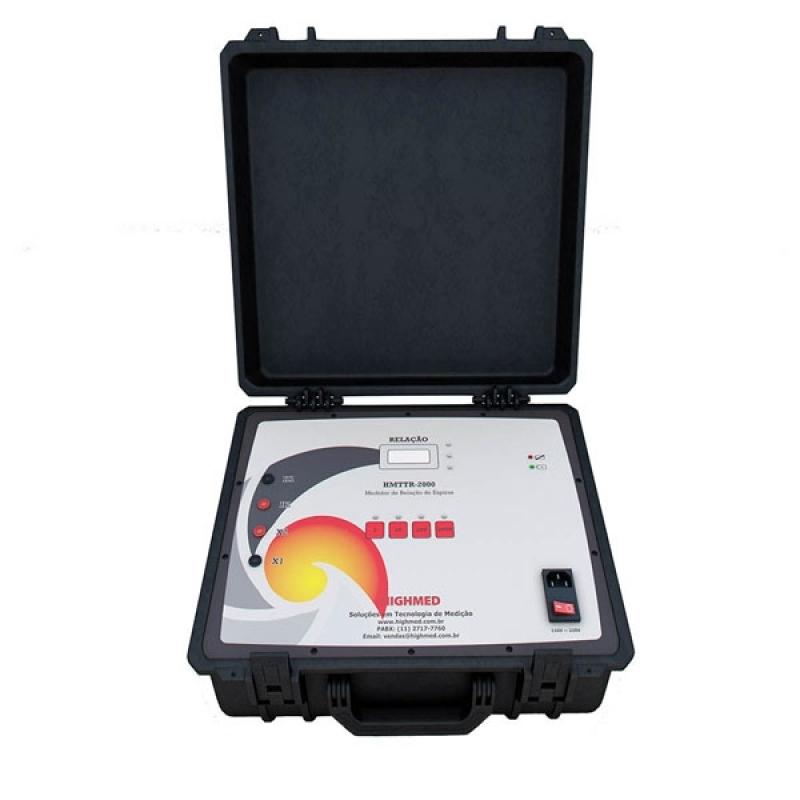 Comprar Medidor Digital de Relação de Espiras Preço Araxá - Comprar Medidor Relação de Transformação