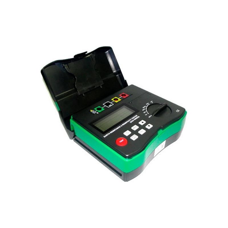 Terrômetro Digital Portátil C/ Calibração Inclusa