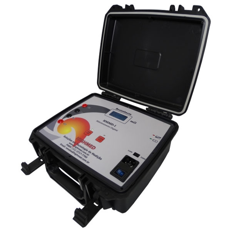 Comprar Miliohmímetro Multifunção Digital 4 Fios Portátil Impac