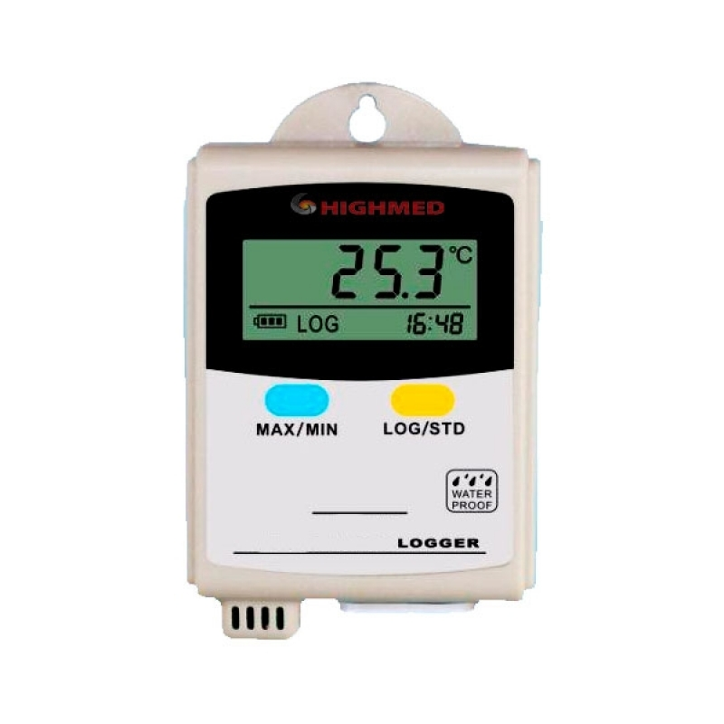 Registrador de Temperatura Portátil Valor ABC - Registrador de Temperatura Pt100
