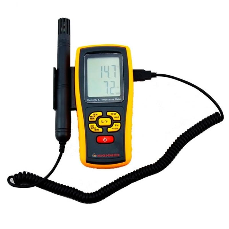 Termo Higrômetro Digital com Sensor
