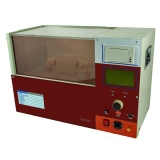 medidor de rigidez dielétrica de óleo isolante 80 kv digital Presidente Prudente