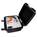 miliohmímetro multifunção digital 4 fios portátil impac